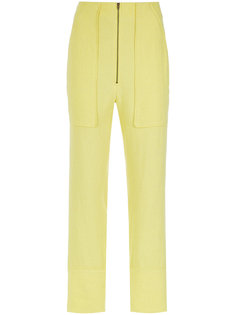 straight leg trousers Olympiah