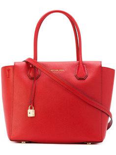 сумка-тоут с подвеской-замком Michael Michael Kors