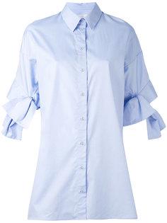 рубашка с завязками на рукавах Victoria Victoria Beckham