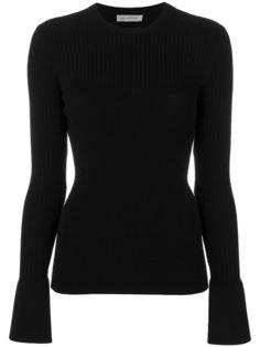 трикотажный свитер в рубчик Sportmax