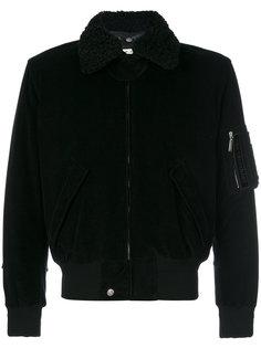вельветовая куртка-бомбер Saint Laurent