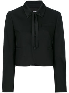 укороченная куртка с классическим воротником Red Valentino
