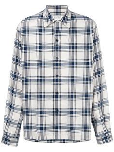 клетчатая рубашка Maison Margiela