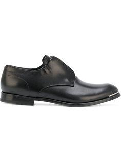 туфли Дерби на молнии спереди Alexander McQueen