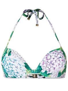 лиф от купальника с цветочным рисунком Dolce & Gabbana