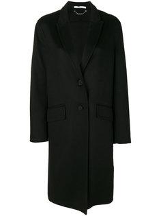 однобортное пальто свободного кроя Givenchy