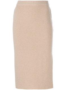 юбка с боковым разрезом Agnona
