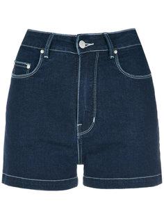 high waisted denim shorts Amapô