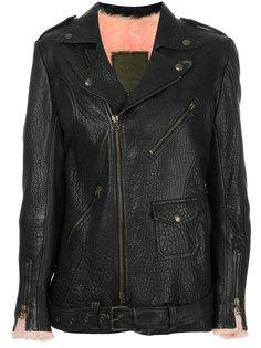 байкерская куртка свободного кроя Mr & Mrs Italy