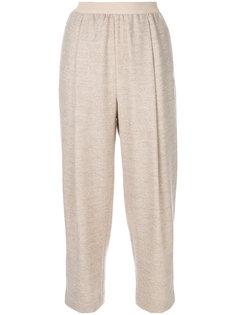 укороченные брюки со складками Agnona