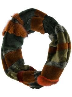 шарф с панелями Liska