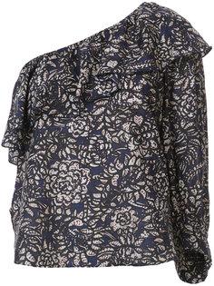 блузка с узором на одно плечо Apiece Apart