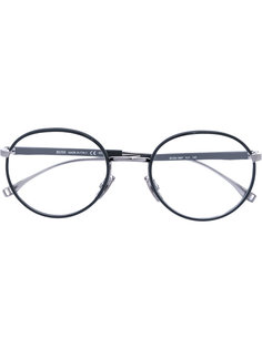 круглые очки в узкой оправе Boss Hugo Boss