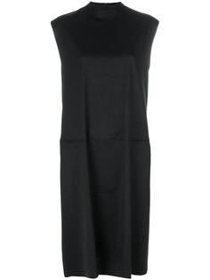 свободное платье без рукавов  Mm6 Maison Margiela
