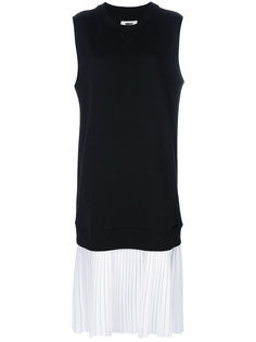 платье-толстовка без рукавов  Mm6 Maison Margiela