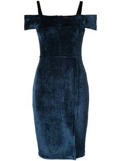 платье с заниженной линией плеч Yigal Azrouel
