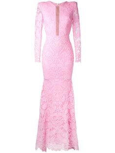 кружевное платье Darius Alex Perry