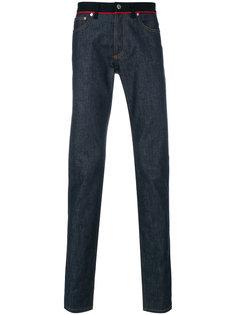 джинсы с контрастным поясом Givenchy