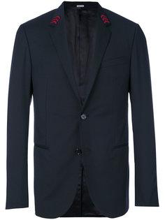 пиджак с вышивкой на воротнике Lanvin