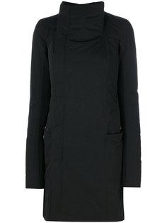 пальто с воротником воронкой Rick Owens