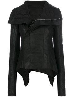 асимметричная байкерская куртка Rick Owens