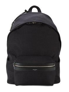 большой рюкзак с логотипом Saint Laurent