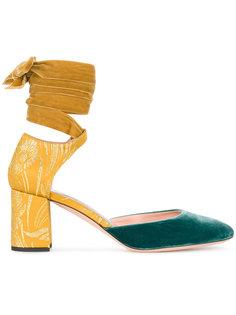 туфли-лодочки с завязкой на щиколотке Rochas