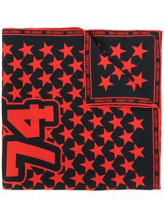 шарф с вышивкой звезд Givenchy