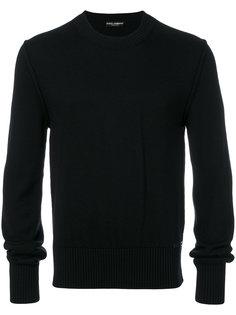свитер с круглым вырезом Dolce & Gabbana