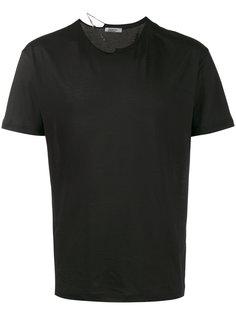 футболка с цепочкой на горловине Valentino
