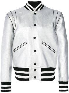 куртка-бомбер с полосатой отделкой Givenchy