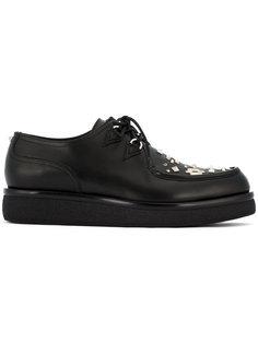 туфли на шнуровке с заклепками Valentino Garavani Valentino
