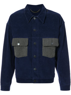 куртка с контрастными карманами Rochambeau