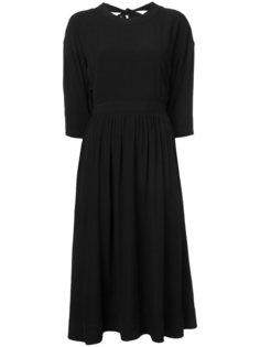 приталенное платье миди Rosetta Getty