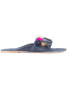 сандалии с вышивкой Figue