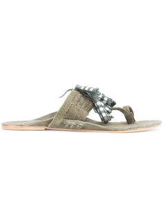 сандалии с бахромой  Figue