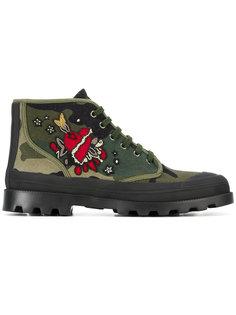ботинки с вышивкой Valentino Garavani Valentino