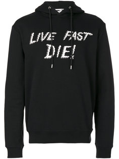 толстовка Live Fast Die McQ Alexander McQueen
