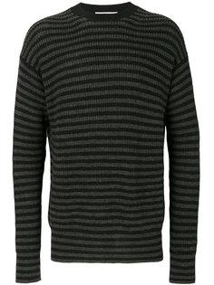 трикотажный свитер в полоску McQ Alexander McQueen