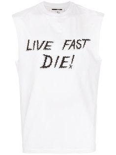 майка Live Fast Die McQ Alexander McQueen