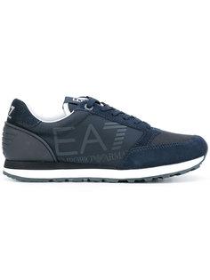 кроссовки с контрастными вставками Ea7 Emporio Armani