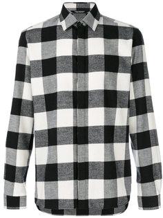 клетчатая рубашка Neil Barrett