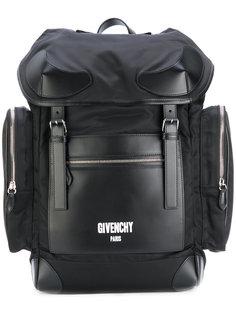 рюкзак в стиле милитари с карманами Givenchy