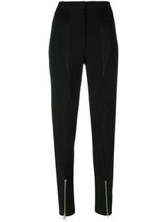 брюки с завышенной талией Versace
