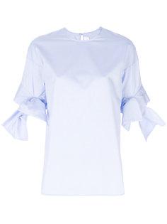 блузка с бантами на рукавах Victoria Victoria Beckham