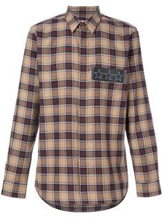 клетчатая рубашка Givenchy