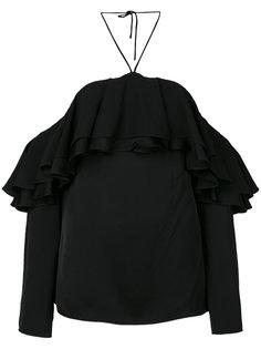 топ с открытыми плечами Emilio Pucci