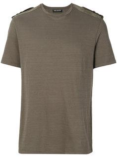 футболка с эполетами Neil Barrett