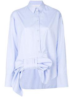 рубашка с асимметричным бантом Victoria Victoria Beckham