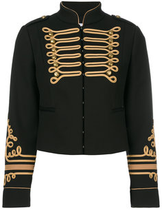 укороченная куртка в стиле милитари Red Valentino